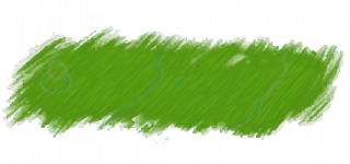 Green Brush Stroke